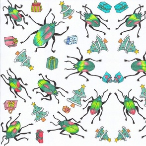 Christmas_beetles_pattern-ed