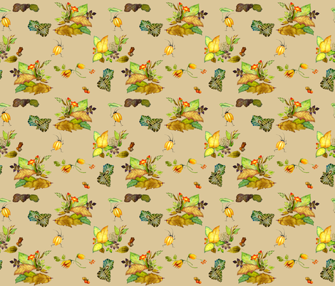 beetlebugs fabric by golders on Spoonflower - custom fabric