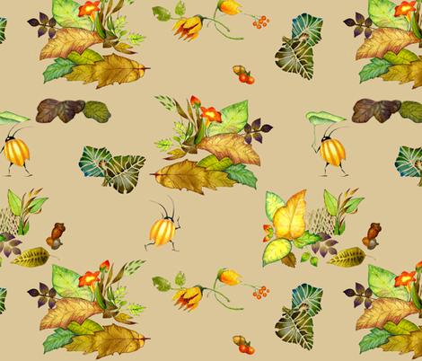 beetlebugs fabric by golders on Spoonflower - custom fabric
