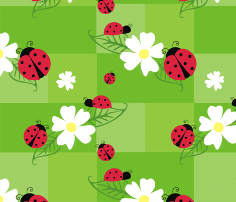 ladybug_fabric fabric by brandywine21478 on Spoonflower - custom fabric