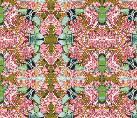 Ugg, Bugs fabric by edsel2084 on Spoonflower - custom fabric