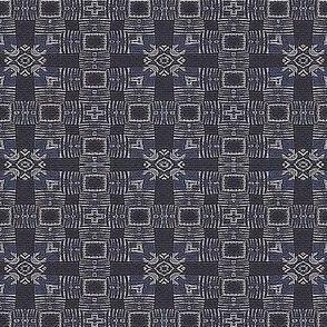 Blue-Grey Squares