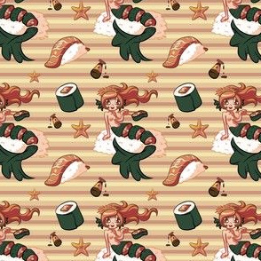 Sushi Mermaid