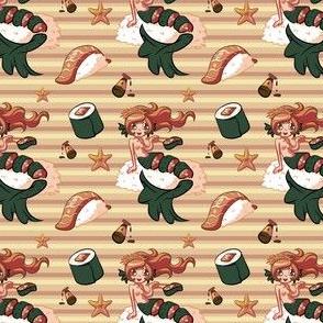 Sushi Mermaid