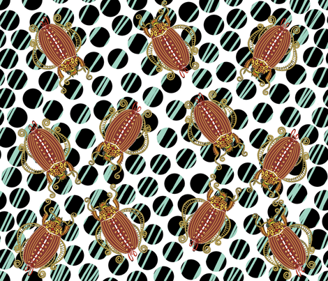 How do we get through Fred? fabric by art_on_fabric on Spoonflower - custom fabric