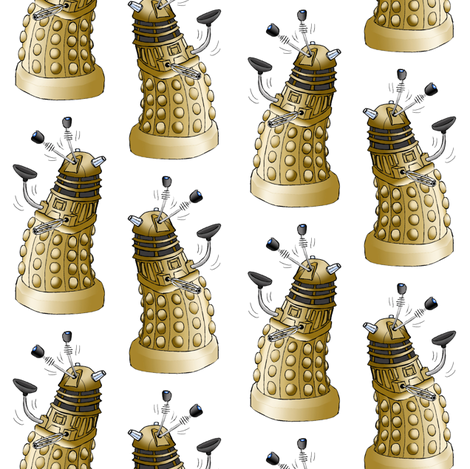 Wibbly Wobbly Party Dalek
