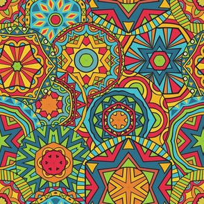 Bright Ethnic Pattern