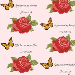 springtime - pink scripture