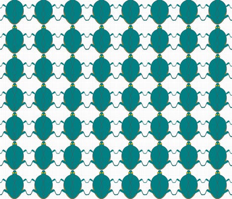 greenbeetle fabric by luluhoo on Spoonflower - custom fabric