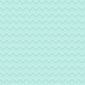 Sea blue chevron