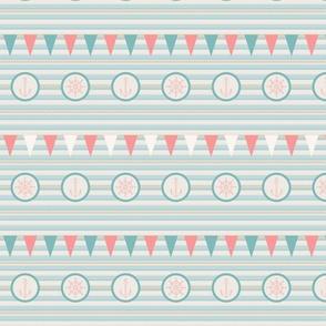 Marine theme pattern