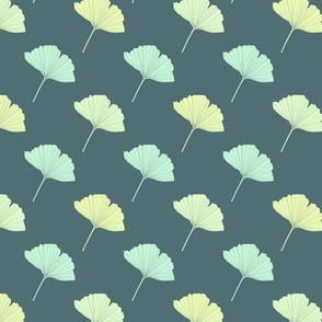 Ginkgo leaves_pattern