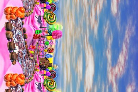 Pink Candyland - Border