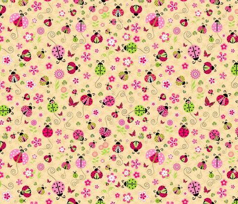 Ladybug Luck fabric by bags29 on Spoonflower - custom fabric
