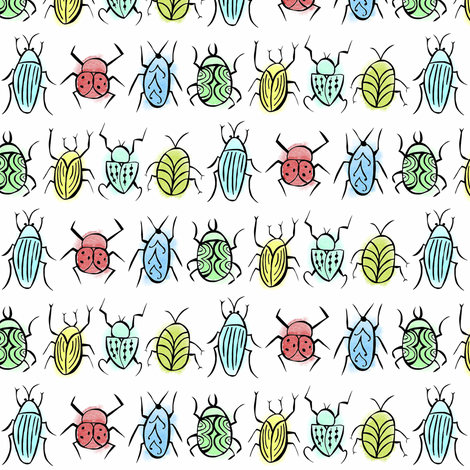 Buggy fabric by pattyryboltdesigns on Spoonflower - custom fabric