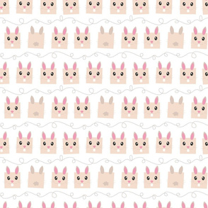 Bouncing Bunnies - smallscale