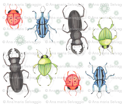 Bright Beetles