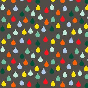winter raindrops