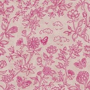 Palace Garden | Jaipur Pink