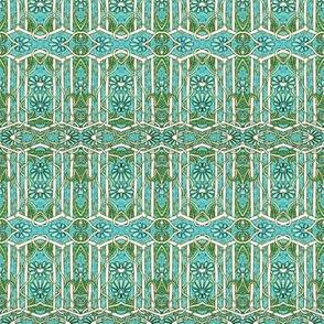 Geometric Daisy Garden