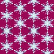 Inspired Elsa Snowflakes Magenta
