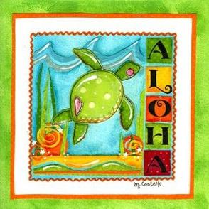 Aloha Sea Turtle