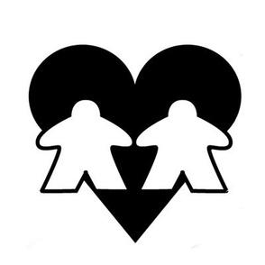 Large Meeples in Love