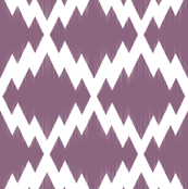 Navajo Ikat2-Purple & White