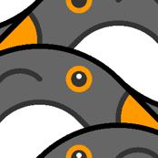 penguins glide
