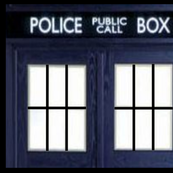 POLICE BOX WINDOW