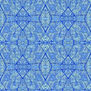 Hexa Paisley Honeycomb
