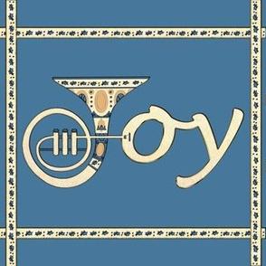 Joy French Horn Blue Grey