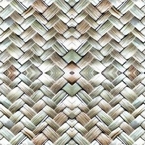 Woven Flax Kete