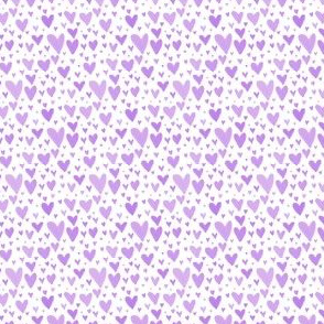 Tiny Hearts Scatter - Purple
