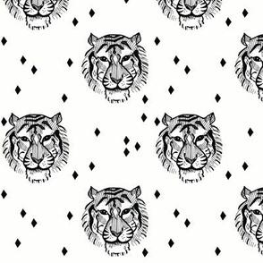 Tiger B&W - elvelyckan