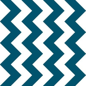 Navy Chevron - Medium