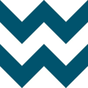 Navy Chevron - Large