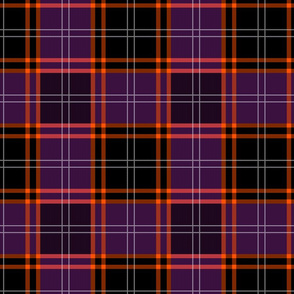 Custom Tartan ~ MacHalloween ~ Midnight