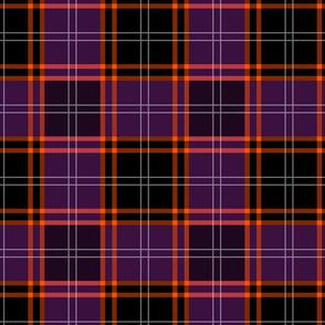 Custom Tartan ~ MacHalloween ~ Midnight