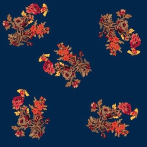 autumnroses-navy