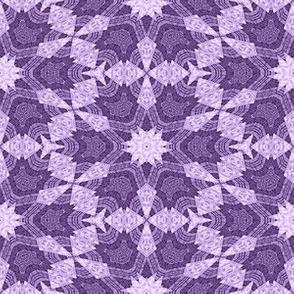 Patchwork in Purple: Starry Geometry