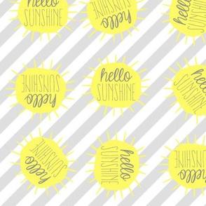 Hello Sunshine Toss