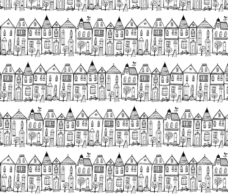 San_Fran_Neighborhood fabric by bicycles_and_bikinis on Spoonflower - custom fabric