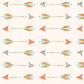 native arrows // blush