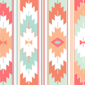 coral kilim // on the side