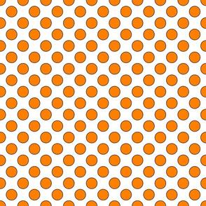Orange Dots Small 1