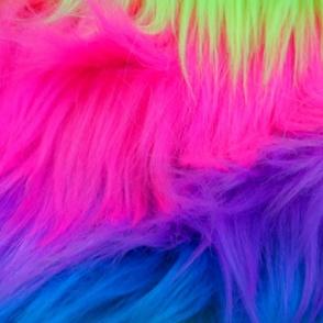fluff rainbows