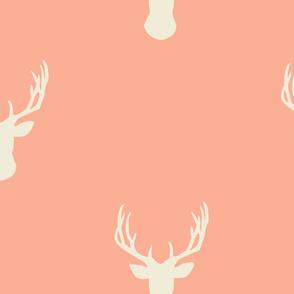 Peachy Pink Deers
