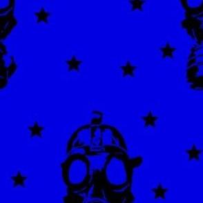 GasMask Blue