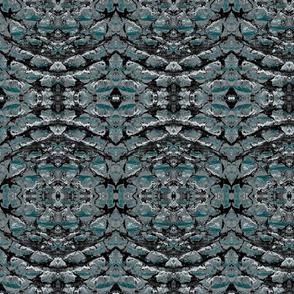 Nocturnal Teal Dragon Scales I